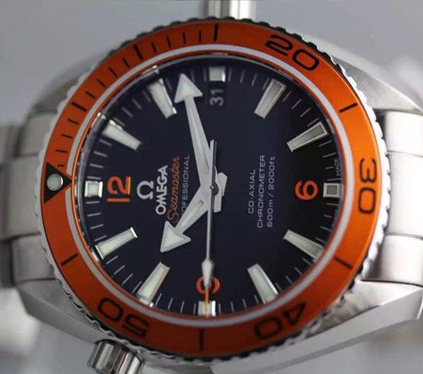 Omega Planet Ocean Professional Orange A8500-buyreplicasdeluxe