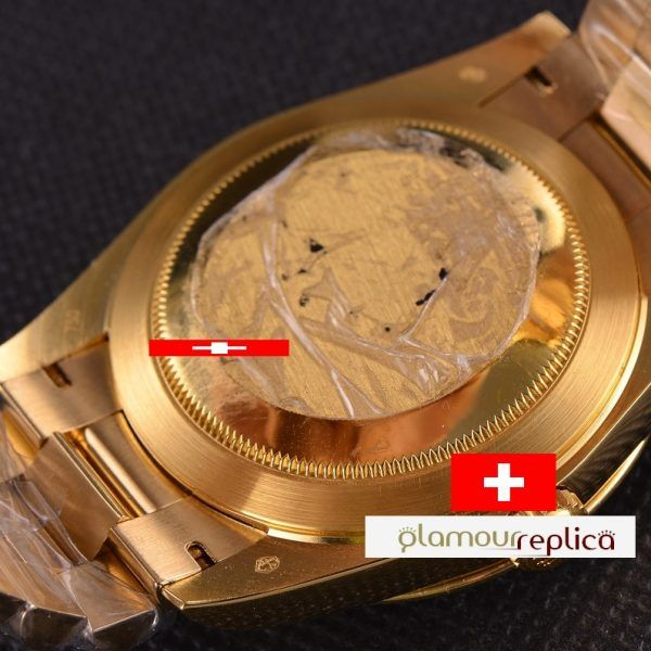 OYSTER PERPETUAL DAY-DATE 40 228348RBR,ORO GRUESO 18K,buyreplicasdeluxe, tapa sin holograma