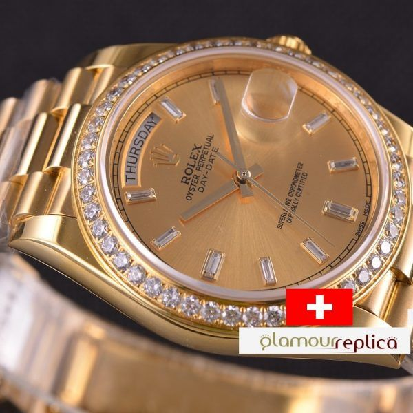 OYSTER PERPETUAL DAY-DATE 40 228348RBR,ORO GRUESO 18K,buyreplicasdeluxe,copias de Rolex