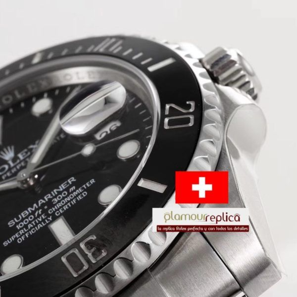Nuevo Submariner 116610LN A2836 buyreplicasdeluxe 5