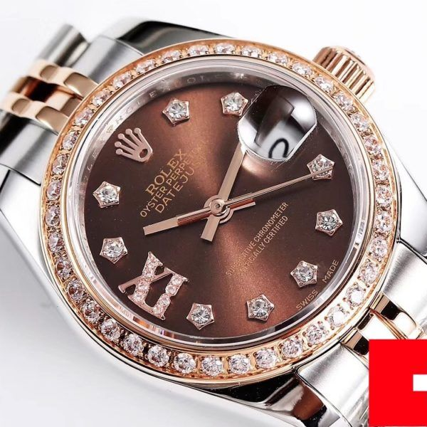 279381RBR glamour replica datejust 28mm