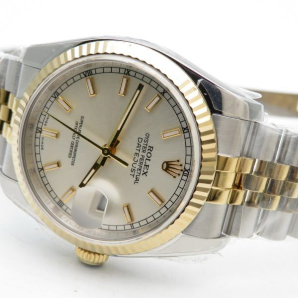 Rolex replica datejust 36mm jubilee gris