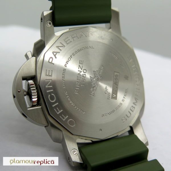 Panerai PAM01055 Submersible Verde